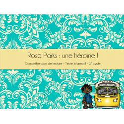 Rosa Parks - Compréhension de lecture