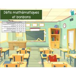 3e cycle - Défis mathématiques et bonbons