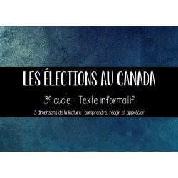 Élections au Canada - Compréhension de lecture