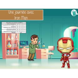 3e cycle - Une journée avec Iron Man