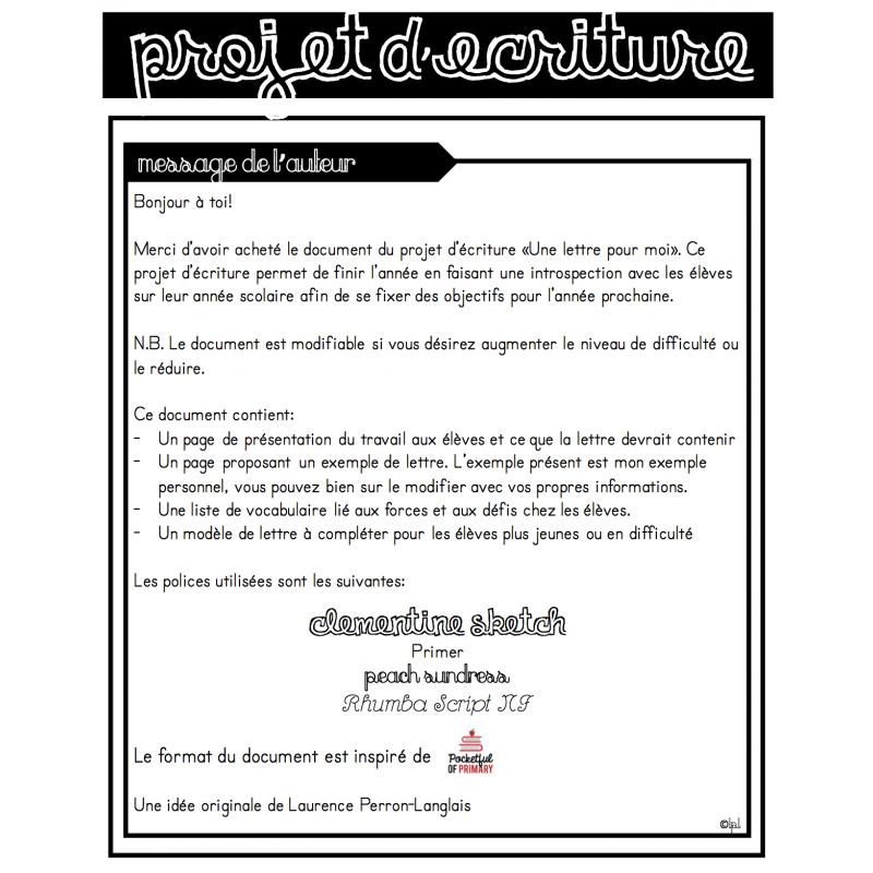 9 Lettre Projet Professionnel Fongecif: Situation D\'écriture