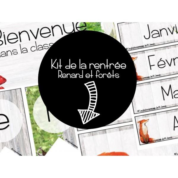 Ensemble complet // Renards & Forêts