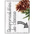 Responsabilités de classe // Renards & Forêts