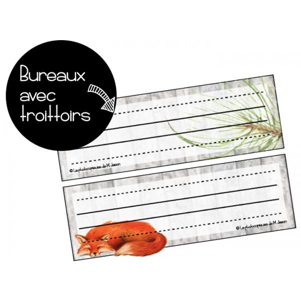 Bureaux + Trottoirs //Renards & Forêts