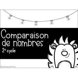 Mathématique // Cartes à tâches: comparaison