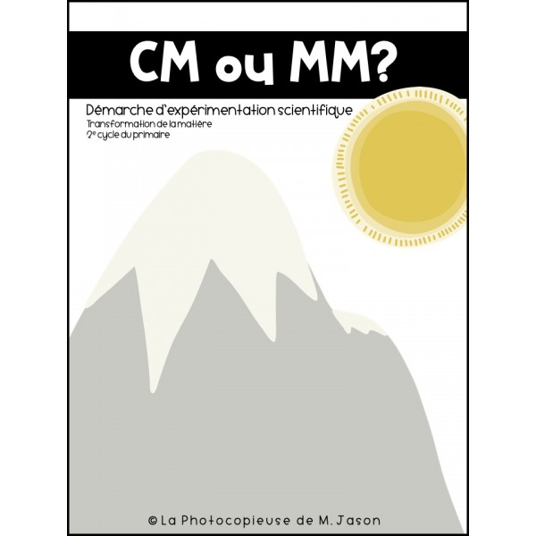 CM ou MM? // Sciences: 2e cycle