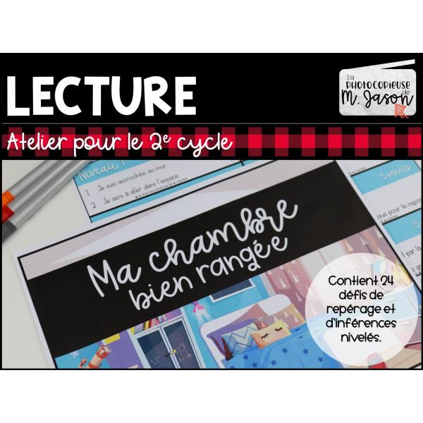 Atelier lecture: Ma chambre //2e cycle