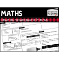 Mathématique: Cahier de notions //3e année