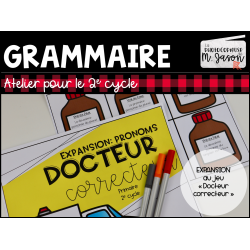 Docteur correcteur: expansion PRONOMS // 2e cycle