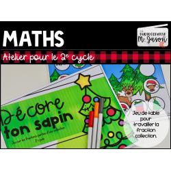 Atelier maths: Décore ton sapin
