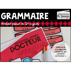 Docteur Correcteur: expansion VERBE // 2e cycle