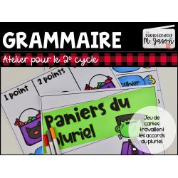 Atelier français: Paniers du pluriel