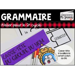Atelier français: Casse-tête GN