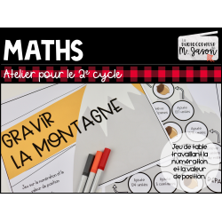 Atelier maths: Gravir la montagne! // 2e cycle