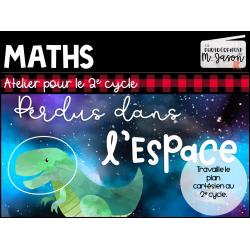 Atelier maths: Perdus dans l'espace // 2e cycle