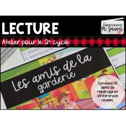 Atelier lecture: Amis de la garderie // 2e cycle
