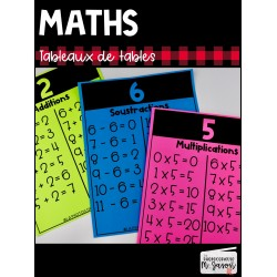 Maths: Tableaux de tables // 2e cycle