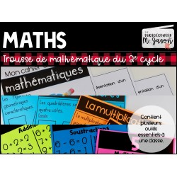 ENSEMBLE: Trousse de maths // 2e cycle