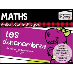 Atelier maths: Les dinonombres // 2e cycle