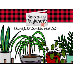 Clipart // Ensemble plantes #1