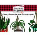 Clipart // Ensemble plantes suspendues
