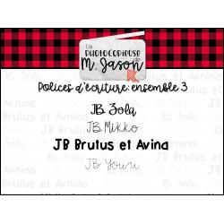 Polices JB //Ensemble 3
