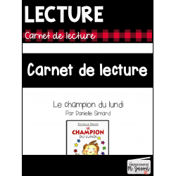 Lecture //Carnet de lecture: Champion du lundi
