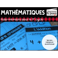 Maths: Tableaux d'ancrage // 1er cycle