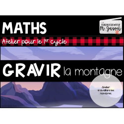 Atelier maths: Gravir la montagne //1er cycle