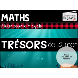 Atelier maths: Trésors de la mer // 1er cycle