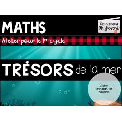 Atelier maths: Trésors de la mer // 1er cycle