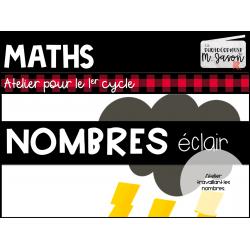 Atelier maths: Nombres éclair //1re année