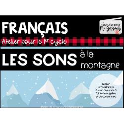 Atelier français: Sons à la montagne //1er cycle