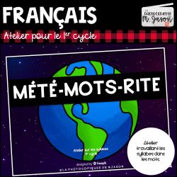 Atelier français: Mété-mots-rite // 1er cycle