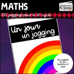 Maths: Un jour, un jogging // 2e cycle