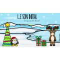 Son initial - Noël