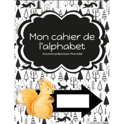 Mon cahier de l'alphabet