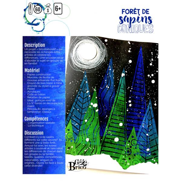 Sapins en forêt (collaboration)