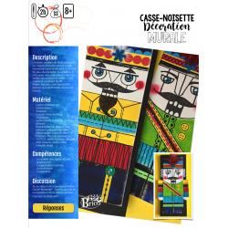 Casse-Noisette coloré, arts plastiques