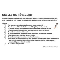 Grille de révision