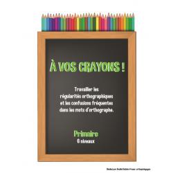 À vos crayons (régularités/confusions) 6 niveaux