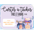 Cartes à tâche - Taxes et rabais 3e cycle