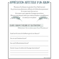 Appréciation artistique_Albums