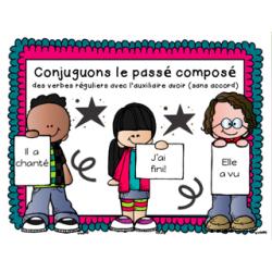 Les verbes au passé composé (3 groupes)