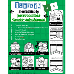 Fanion franco-ontarien (Biographie) - Volume 1