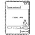 Écrire une lettre aux soldats pour Noël