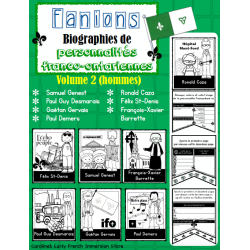 Fanion franco-ontarien (Biographie) - Volume 2