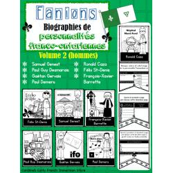 Fanion franco-ontarien (Biographie) - Volume 2