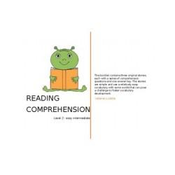 Reading Comprehension- easy intermediate