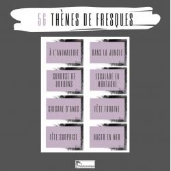 Banque de 56 thèmes de fresques
